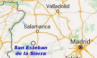 San Esteban de la Sierra. Salamanca. Casa rural El Mirador del Tiriñuelo.